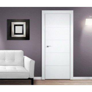 Белые двери межкомнатные из массива