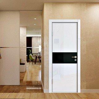 Двери с покрытием глянец