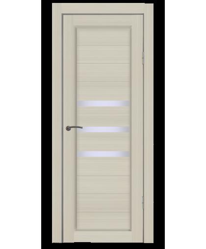 Дверь B3 лиственница, стекло сатин, Mart