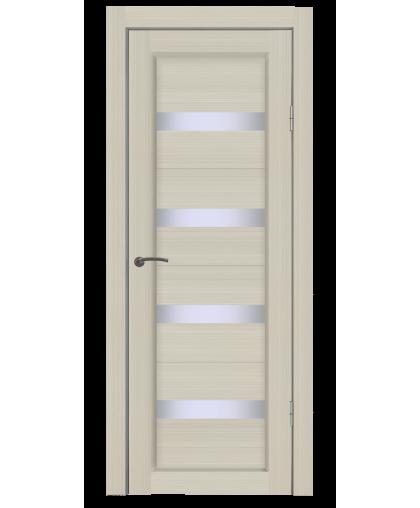 Дверь B4 лиственница, стекло сатин, Mart