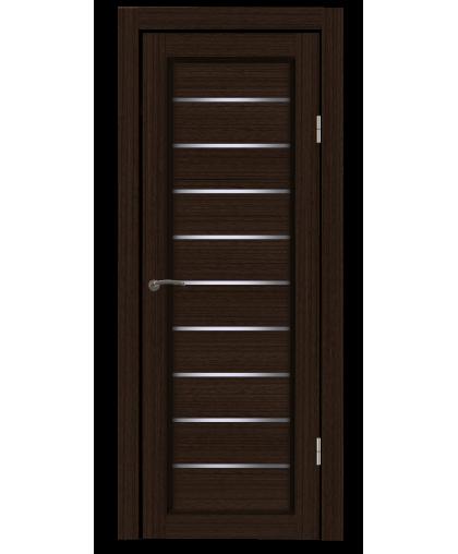 Дверь B5 венге, стекло сатин, Mart