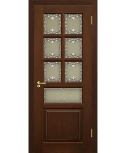 Дверь из дерева Верона со стеклом